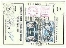 FRANCE  TIMBRE  ORDRE DE REEXPEDITION  LE CHESNAY POUR LE CHESNAY 1979