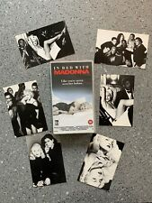 MADONNA In Bed With Madonna VHS Video With Six Postcards