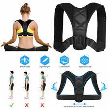 Adjustable Posture Corrector Back Shoulder Lumbar Belt Spine Support Men Women