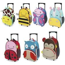 Unisex Children Canvas Travel Bags & Hand Luggage Upright (2) Wheels