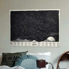 Home Decorative Star Map Glow in Darkness Night Sky Star Wall poster sticker