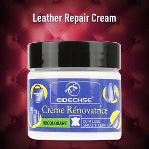 EIDECHSE Leather Repair Cream Liquid Restoration Tool For Car Seat Sofa Coats UK