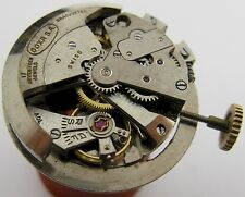 used AS 1250 Doxa watch movement 17 jewels for parts