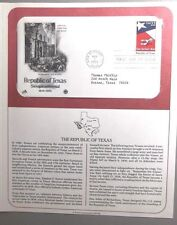 FDC Stamp Republic of Texas 2Mar1986 Sesquicentennial San Antonio TX #18
