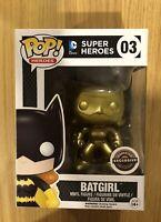 Super Heroes DC Gold Batgirl GameStop Exclusive Funko Pop Vinyl  Figure