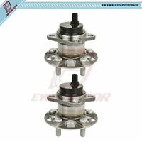 Pair Rear Left or Right Side Wheel Hub Bearings W/ABS For Toyota Prius 2010-2015