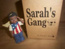 "Sarah's Attic ""Sarah's Gang"" Afro-American-Usa boy Angel ""Pitter"" 2001 Patriotic"