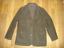 SOMEWHERE veste costume  taille M  en coton façon velours