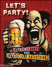 College Beer  Poster/Party Time Poster/16x20 inch/Dorm Room