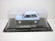 COCHE FIAT PANDA AZUL 1980 CLARO 1/43 1:43 METAL CAR SEAT MINIATURA alfreedom