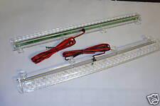 LED Spoiler Brake Light Red LED with Clear Lens 13.8 vdc