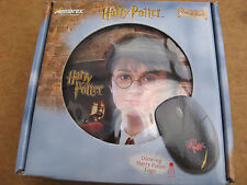 UNOPENED PS2 HARRY POTTER OPTICAL MOUSE IN YOUNG HARRY POTTER TIN .