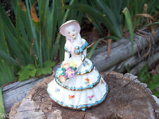 Southern Belle Lady Statue Shabby Roses Lefteris Japan