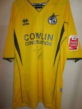 Bristol Rovers Match Worn Mullings 2005-2007 Away Football Shirt with COA /19741