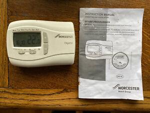 Worcester Bosch Digistat DT10RF Programmer with Manual