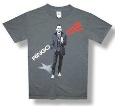 Ringo Starr-(The Beatles)-All Starr 2012 Tour-XXL Lightweight Grey T-shirt