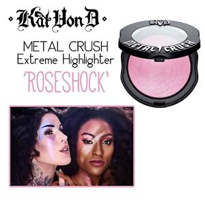 KAT VON D Metal Crush Highlighter-Roseshock