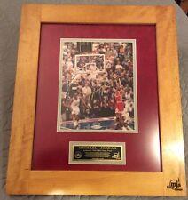 Michael Jordan Signed Autographed UDA COA 1998 Finals Floor Framed from FLOOR