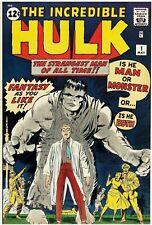 The Incredible Hulk #1 Facsimile Reprint Cvr Only w/Orig Ads Key 1st App of HULK
