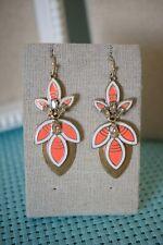 Stella & Dot Hibiscus Chandelier Earrings