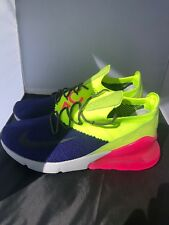 9a6b0d45070 Nike Air Max 270 Flyknit Men s Size 11.5 Blue Pink Green A01023 501