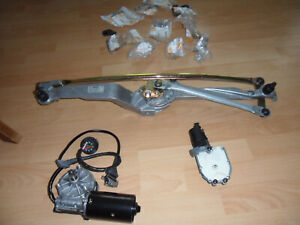 BMW E31 Scheibenwischergestänge kpl. incl Antriebsmotor & Anpressdruckversteller
