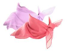 Pink & Lilac Scarf Set - 2 Sheer Chiffon 50s Style Scarves - Hey Viv Retro