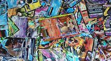 Pokemon TCG 50 CARD LOT-RARE, COMMON, UNCOMMON, & GUARANTEED RARES OR HOLO CARDS