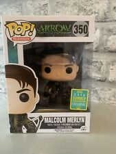 Funko Pop Arrow Malcolm Merlyn 2016 Summer Convention Exclusive DC TV #350