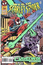 4 x Scarlet Spider Comics Cyberwar 1-4 Marvel Web Spectacular Ben Reilly Stunner