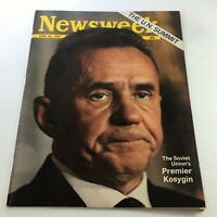 VTG Newsweek Magazine June 26 1967 - Premier of the Soviet Union Alexei Kosygin