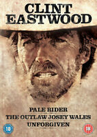 Pale Rider/The Outlaw Josey Wales/Unforgiven DVD (2012) Clint Eastwood cert 18