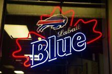 """New Buffalo Bills Labatt Blue Bar Beer Neon Light Sign 24""""x20"""""""
