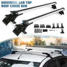 125cm Car Top Roof Rack Cross Bar Luggage Cargo Carrier Rack wtih 3 Kinds Clamp