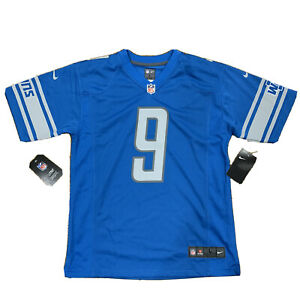 Matthew Stafford Nike OnField Detroit Lions Jersey, Size Youth Large NWT