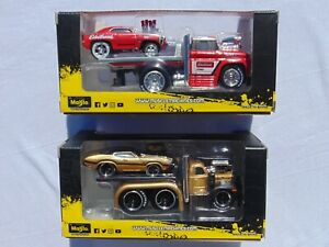 2021 Muscle Machines Transport 1953 MAC 361 & 1966 Chevrolet C60 Flatbed Lot