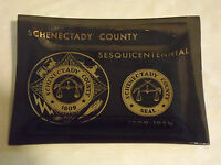 VINTAGE 1809-1959 SCHENECTADY COUNTY NY SESQUICENTENNIAL CANDY  DISH TRAY