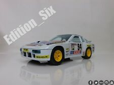 Burago 1:24 1983 Classic PORSCHE 924 Turbo GR.2 White  Racing Replica Car
