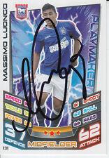 Trova sia città mano firmato Massimo LUONGO MATCH ATTAX CARD 12/13.