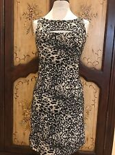 Betsey Johnson Lycra Leopard Keyhole Dress