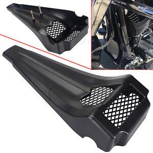 BLK Front Chin Spoiler Scoop For Harley Road Glide Custom FLTRX Ultra FLTRU