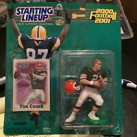 F60 2001 TIM COUCH BROWNS (BROWN JERSEY) Starting Line Up NIB FREE SHIPPING