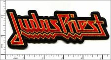 "JUDAS PRIEST heavy metal band embroidered iron on patch 5""x2"""