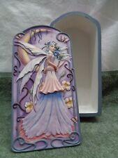 "Jessica Galbreth "" Enchanted Moon"" Fairy Trinket Jewelry Box NIB"