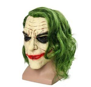 Masque The Joker Dc Comics Batman Cosplay Adulte Deguisement Halloween