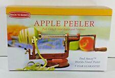 Apple and Potato Peeler Corer Slicer Back to Basics Cast Iron Suction Base NEW