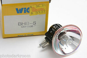BHB-5 125 Volt 250 Watt Bulb 125V 250W Lamp - Wiko - NEW L04