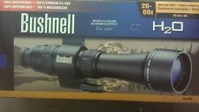 BUSHNELL H2O 20-60X 60MM ZOOM SPOTTING SCOPE wITH EXTRAS