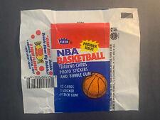 1986 Fleer Basketball Wax Pack Wrapper - Very Nice
