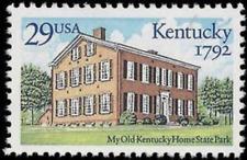 Kentucky Statehood Usa United States 29 Cent Mint Unused Stamp Mnh Scott #2636